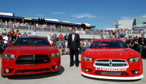 Dodge Unveils 2013 Charger Race Car At Vegas