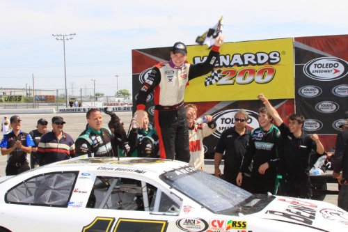 Buescher Continues Toledo Domianace With Arca Victory