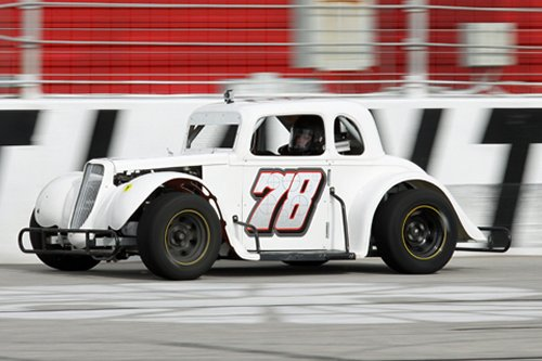 Madeline Crane topped the field for the Young Lions feature win in Saturday's Winter Flurry event at Atlanta Motor Speedway.  Photo by Tom Francisco/Speedpics.net