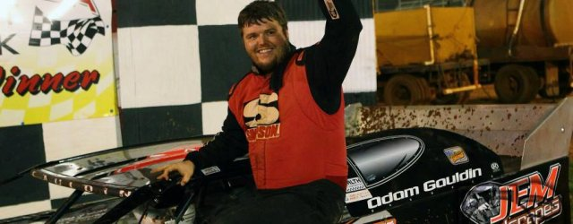 Adam Gauldin of Talladega, AL continues to hold command of the NeSmith Chevrolet Weekly Racing Series point standings after driving the Adam Gauldin Racing GRT to his second straight win […]
