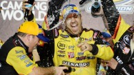 Kyle Busch scored his 35th-career NASCAR Camping World Truck Series victory and clinched the 2013 owners championship in a wild three-overtime finish in Friday night's Ford EcoBoost 200 season finale […]