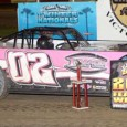 Keith Nosbish charged to the lead on lap seven in the Topless Late Model feature at East Bay Raceway Park in Tampa, FL Saturday night, and would go on to […]
