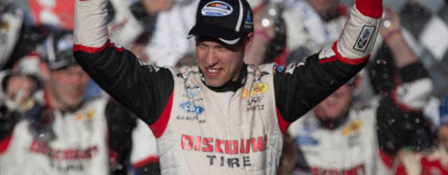 In the closing laps of Saturday's Boyd Gaming 300 NASCAR Nationwide Series race at Las Vegas Motor Speedway, Kyle Busch was close enough to make Brad Keselowski uncomfortable. It didn't […]