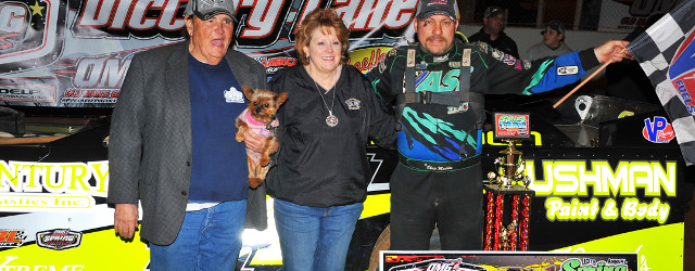 PHENIX CITY, AL – Chris Madden of Laurens, SC came out on the winning end of a photo finish on Friday night in the 30-lap main event for the Chevrolet […]
