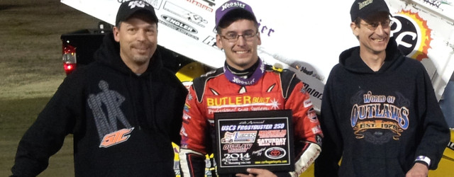 Two-time USCS Sprint Car champion Derek Hagar got his 2014 season off to a good start Saturday night, as the defending series champ scored the feature victory in the USCS […]
