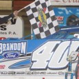 Kyle Bronson inherited the lead with 10 laps to go after a hard battle with Keith Nosbisch, and would go on to score the Late Model feature victory Saturday night […]