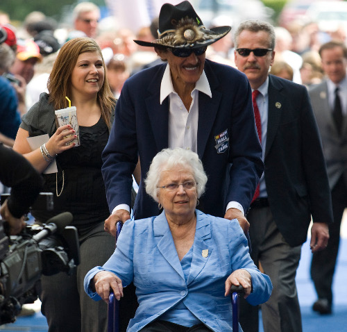 Lynda Petty, wife of NASCAR Hall of Famer Richard Petty, passed away Tuesday afternoon after a long battle with cancer. Photo by Chris Keane/Getty Images for NASCAR