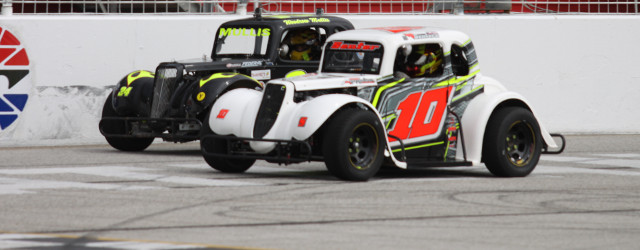 R.S. Senter of Oakwood, GA picked up his fifth Semi-Pro feature win in as many starts Saturday in week six action of the Winter Flurry series at Atlanta Motor Speedways […]