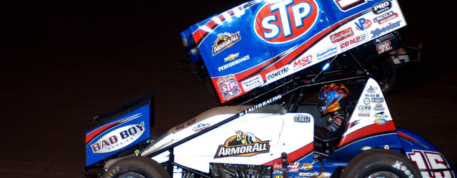 BLOOMINGTON, IN – The cushion and lapped traffic midway through Friday night's Indy Race Parts presents the World of Outlaws STP Sprint Car Series at Bloomington Speedway provided Donny Schatz […]