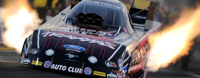 SONOMA, CA – Courtney Force raced to the current No. 1 qualifying position in Funny Car during Friday qualifying at the NHRA Sonoma Nationals. Brittany Force (Top Fuel), Jason Line […]