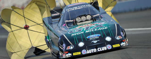 KENT, WA – John Force raced to the provisional No. 1 qualifying position in Funny Car during Friday qualifying at the O'Reilly Auto Parts NHRA Northwest Nationals. Tony Schumacher (Top […]