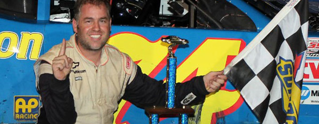 NEWTON, NC – Preston Peltier took the lead with five laps to go from race long dominator Tyler Dippel and held on for his third straight Pro All Stars Series […]