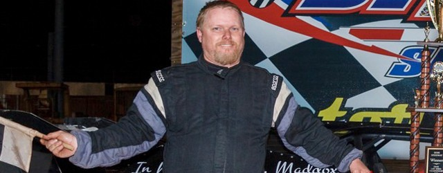 Tom Maddox jumped out to the early lead in Saturday night's Crate Late Model Championship race at Dixie Speedway in Woodstock, GA, and drove away to score the victory and […]