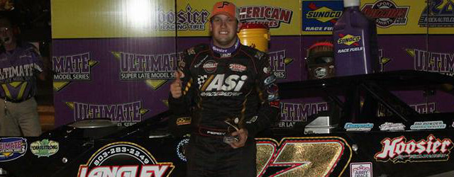 """Chris Ferguson struck early in Saturday night's """"Rattlesnake Rumble"""" at Dublin Motor Speedway in Dublin, NC and powered away to the Ultimate Super Late Model Series victory. The Mount Holley, […]"""