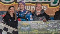 Josh Richards of Shinnston, WV drove the Sallack Well Service Rocket to his first career NeSmith Chevrolet Dirt Late Model Series win on Friday night at Bubba Raceway Park in […]