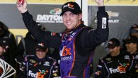 Even a damaged right side door couldn't slow down Denny Hamlin on Saturday night. Hamlin scored his third career Sprint Unlimited win at Daytona International Speedway when a multi-car crash […]