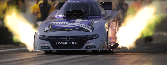 Jack Beckman picked up right where he left off last season by racing to the No. 1 qualifying position in Funny Car Saturday at the Circle K NHRA Winternationals at […]