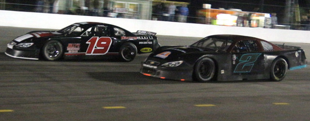 Chris Burns and Joshua Yeoman made sure the fans got their money's worth in Saturday night's race at Carteret County Speedway in Swansboro, NC. The two drivers swapped the lead […]