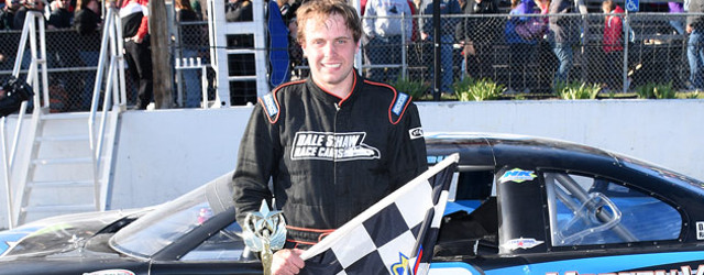 D.J. Shaw drove from third position to first on a restart with four laps remaining in Saturday's PASS North Super Late Model Series race at Beech Ridge Motor Speedway in […]