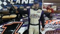 Jason Hiett scored his first career Southern All Stars Dirt Racing Series victory Saturday night at Talladega Short Track in Eastaboga, AL. Hiett dominated from the drop of the green […]
