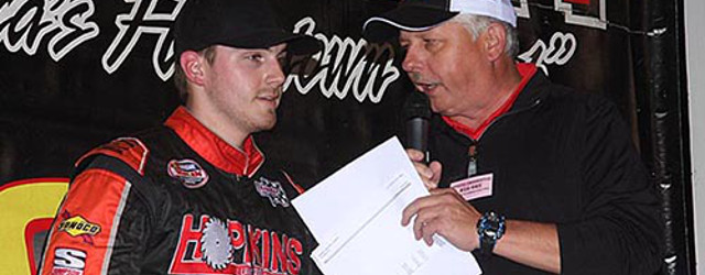 Matt Bowling picked up his fourth win of the season at South Boston Speedway in South Boston, VA Saturday night, winning the 75-lap NASCAR Whelen All American Series Late Model […]