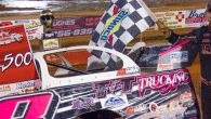 Michael Page of Douglasville, GA earned $2,500 for 13 minutes of work Saturday night by going wire-to-wire in the 50-lap caution-free NeSmith Chevrolet Dirt Late Model Series main event at […]