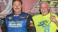After completing a perfect slide job on a pair of drivers, veteran short track ace Clint 'Cat Daddy' Smith drove to his sixth Super Late Model feature win of the […]