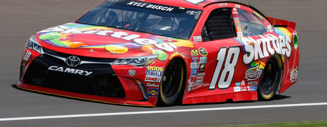 Defending Brickyard 400 race winner Kyle Busch narrowly avoided a major catastrophe during opening practice on Friday at Indianapolis Motor Speedway in preparation for Sunday's race. Closing fast on the […]