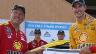 If Joey Logano was looking for a good omen for Sunday, he found it on Friday afternoon at Michigan International Speedway. Touring the two-mile track in 35.697 seconds (201.698 mph) […]