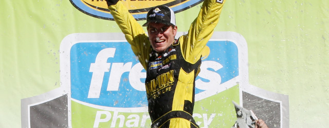 In the race that decided the lineup for the Round of 6 in the inaugural NASCAR Camping World Truck Series Chase, Alabama native Grant Enfinger stole the thunder from the […]