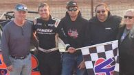 Trent Ivey took the lead with four laps to go and captured the win in Sunday's Georgia State Championship Race for the FASTRAK Pro Late Model Series at Georgia's Lavonia […]