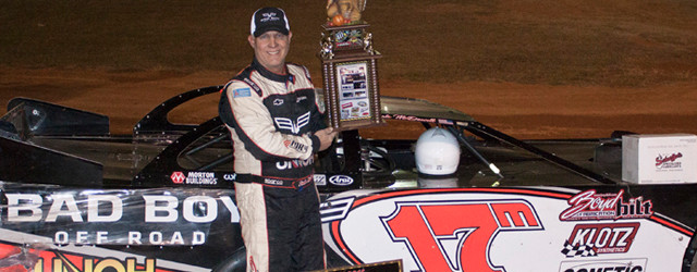 Dale McDowell charged to the lead early, and drove to the win in Saturday night's dirt Super Late Model Leftover 50 at 411 Motor Speedway in Seymour, Tennessee. The victory […]