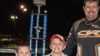 Riley Hickman completed a dominant weekend at Magnolia Motor Speedway in Columbus, Mississippi by leading 100 laps and claiming the $10,000 top prize with the win in Saturday's Possum Town […]