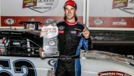 Multi-car wrecks, red flags and six cautions could not keep ARCA Racing Series championship contender Austin Theriault from finding his way to victory lane at Daytona International Speedway. Theriault, in […]