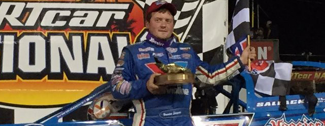 Brandon Sheppard moved to the lead near the halfway point of Wednesday night's DIRTcar Racing Late Model feature, and went on to score the victory in DIRTcar Nationals action at […]