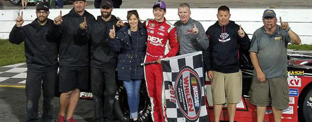 Harrison Burton wasn't going to be denied twice in a row. The 16-year-old from Huntersville, North Carolina, led every lap en route to the Super Late Model Victory Monday in […]