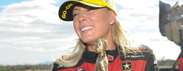 Leah Pritchett repeated as the Top Fuel winner at the 33rd annual NHRA Arizona Nationals on Sunday at Wild Horse Pass Motorsports Park. Matt Hagan (Funny Car) and Greg Anderson […]
