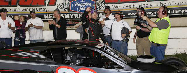 Matt Hirschman used a late race move to score the win in Friday's Richie Evans Memorial 100 for the Tour-Type Modifieds at Florida's New Smyrna Speedway. Hirschman took the point […]