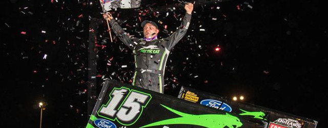 Donny Schatz found more late-race magic on Saturday night getting around Kasey Kahne Racing teammates Brad Sweet and Daryn Pittman with just a few laps left en route to his […]