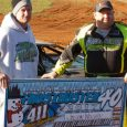 Jason Welshen took the lead early, and went on to score the victory in Saturday's Super Late Model Frostbuster 40 at 411 Motor Speedway in Seymour, Tennessee. Welshan took the […]