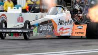 Clay Millican powered his Top Fuel dragster to the qualifying lead Friday at the 30th annual NHRA SpringNationals at Royal Purple Raceway Park for the NHRA Mello Yello Drag Racing […]