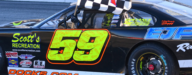 Reid Lanpher earned his first PASS North Super Late Model win Sunday afternoon in the Speedway Homes 150 at Maine's Oxford Plains Speedway. Lanpher won the first heat race to […]