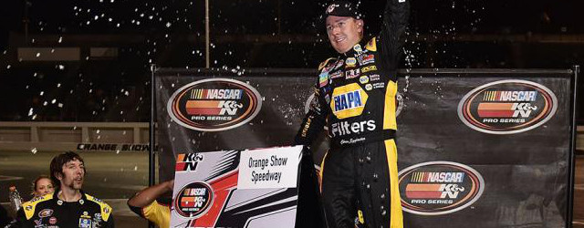 Orange Show Speedway has been a perfect fit for Chris Eggleston. For the second consecutive season, Eggleston was victorious in the Sunrise Ford 150 at the San Bernardino, California raceway. […]