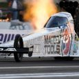 Antron Brown powered his dragster to the Top Fuel qualifying lead Friday evening at the 48th annual NHRA Summernationals at Old Bridge Township Raceway Park. Courtney Force (Funny Car), Bo […]