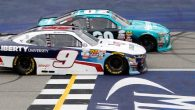The rookie drove like a veteran in Saturday's Irish Hills 250 at Michigan International Speedway, but in the end, the veteran took the rookie to school. Side-drafting off the final […]