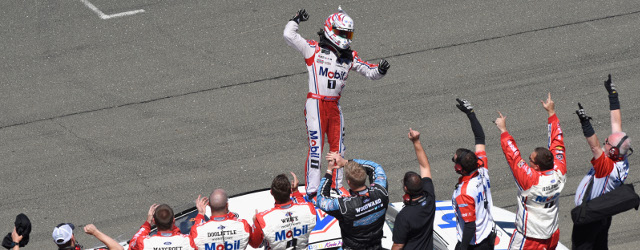 Kevin Harvick won Saturday afternoon's NASCAR K&N Pro Series West event at Sonoma Raceway. That was like taking candy from babies. But Harvick mixed it up with the big boys […]
