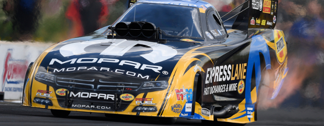 Matt Hagan powered to his third No. 1 qualifier of the season Saturday at the 11th annual Summit Racing Equipment NHRA Nationals at Summit Racing Equipment Motorsports Park in Norwalk, […]