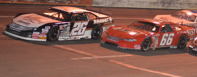 Steve Wallace made the most of a late-race restart to muscle Bubba Pollard out of the way and fend off Matt Craig's aggressive advances in the final two laps of […]