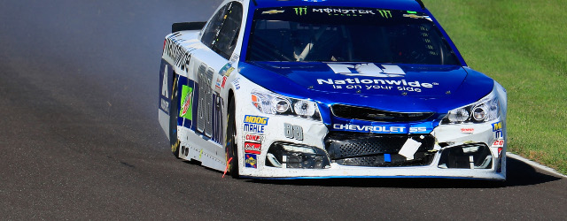 Dale Earnhardt, Jr. had a fast, competitive race car on Sunday, a rare occurrence in his star-crossed last full-time Monster Energy NASCAR Cup Series season. And for once, Earnhardt was […]