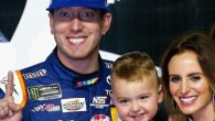 Kyle Busch scored his second-career Bristol three-race sweep with a victory in Saturday night's Bristol Night Race at Bristol Motor Speedway, taking his former protégé and future teammate Erik Jones […]